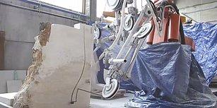 İzlemesi Aşırı Keyifli Şeylerde Bugün: Robotik Mermer Kesme Makinesi