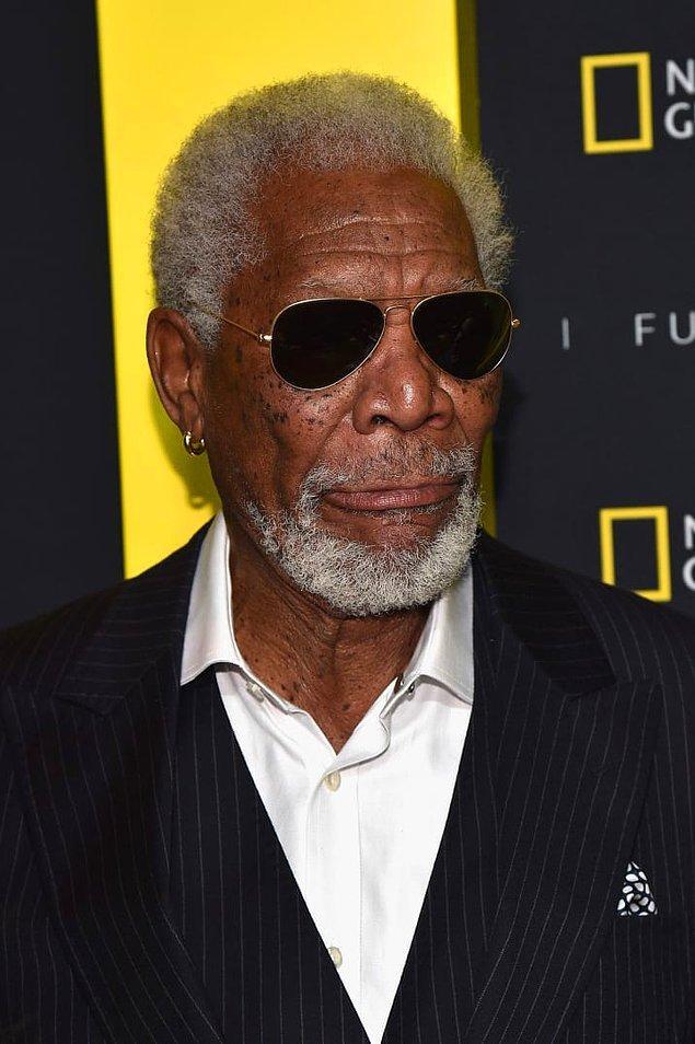 8. Morgan Freeman