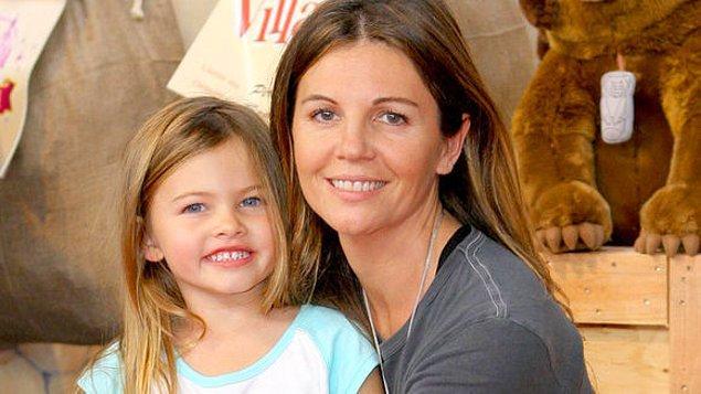 Küçük modelin annesi Veronika Loubry yaptığı açıklamada çekimi savunmuş ve bunda şaşıracak ne olduğunu anlamadığını açıklamıştı.