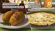 İftar ve Sahuru Düşünmeye Son! Biberiyeli Yelpaze Patates ve Biberiyeli Patatesli Omlet Nasıl Yapılır?