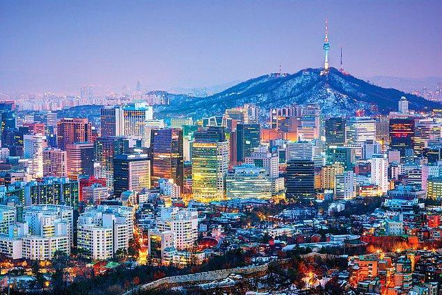 Seul / Güney Kore çıktı!