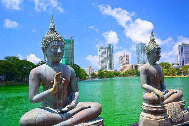 Kolombo / Srilanka çıktı!
