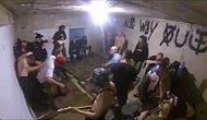Müziğin Pompaladığı Adrenalini Mosh Pit Yaparak Atmaya Çalışan İnsanlar