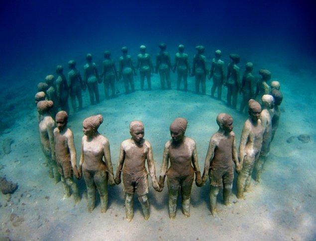 12. Sualtı heykelleri, Meksika