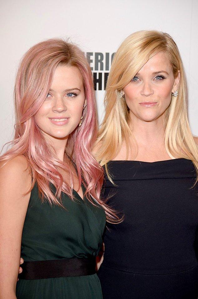 5. Reese Witherspoon ve kızı Ava Elizabeth Phillippe