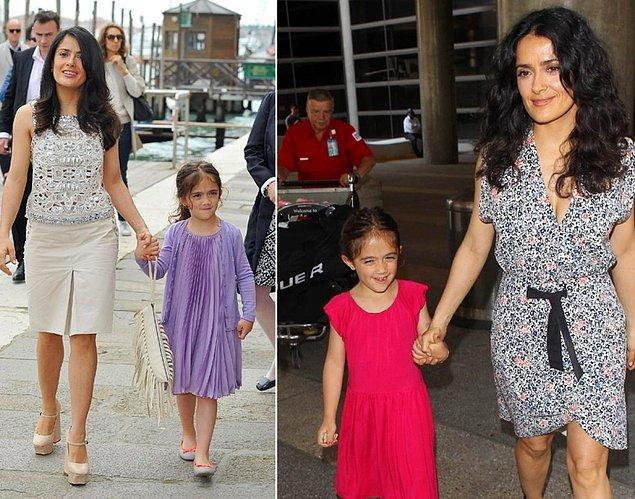 16. Salma Hayek ve kızı Valentina Paloma Pinault