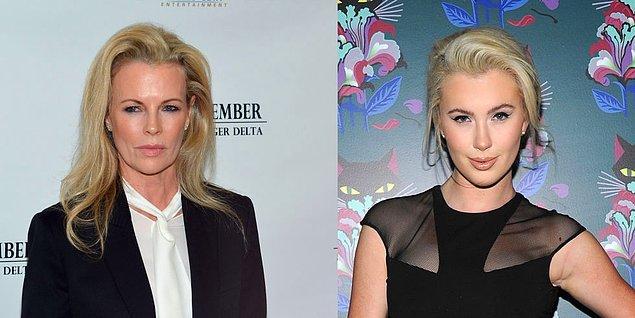 14. Kim Basinger ve kızı Ireland Baldwin