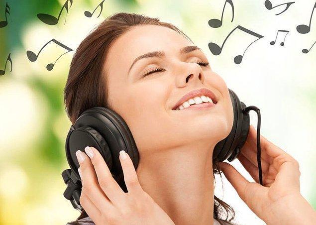 5. Müzik dinleyebilirsiniz.