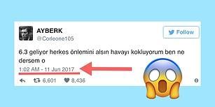 Depremi Önceden Tahmin Eden Twitter'ın Atanamamış Müneccimi ve Gelen Tepkiler