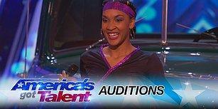 Esnekliğine Hayran Kaldığımız Shemika Charles, Amerika Yetenek Yarışmasında!