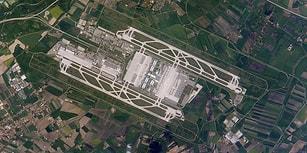 Dünyanın En Büyük Havalimanlarının Birer Mimarlık Harikası Olduğunun Kanıtı 15 Kuş Bakışı Fotoğraf