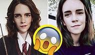 İnsanlar Çift mi Yaratılır? Emma Watson'ın İkizi Olsa Bu Kadar Benzeyecek Kadın Kari Lewis