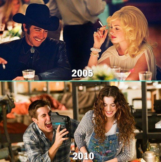 5. Jake Gyllenhaal & Anne Hathaway