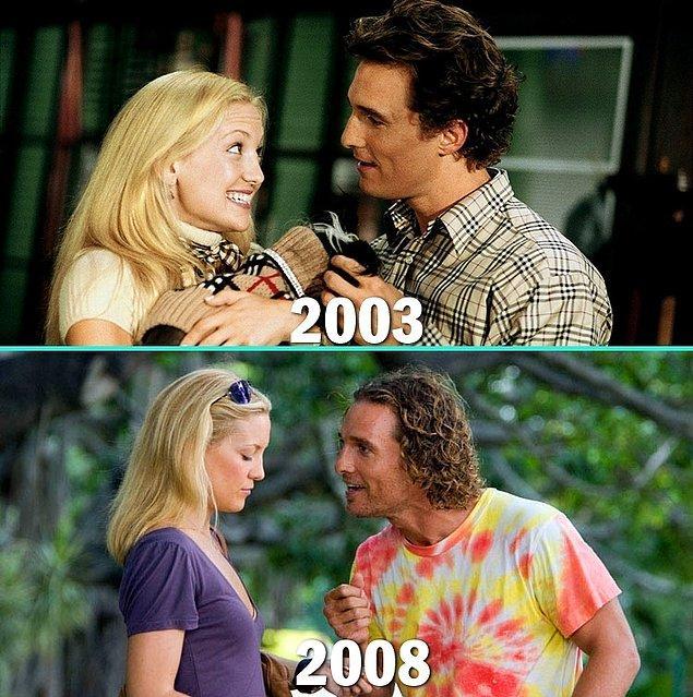 6. Kate Hudson & Matthew McConaughey