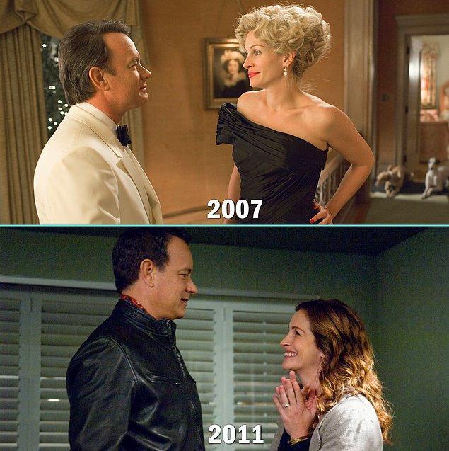 8. Tom Hanks & Julia Roberts