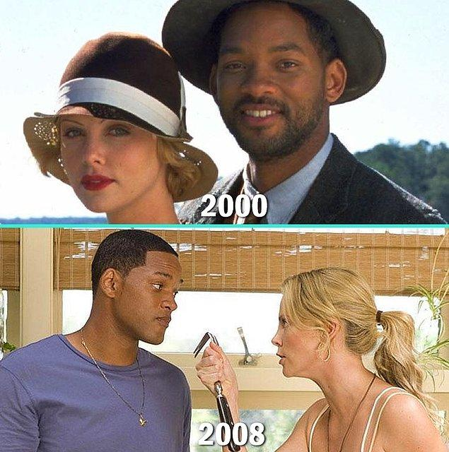 19. Charlize Theron & Will Smith