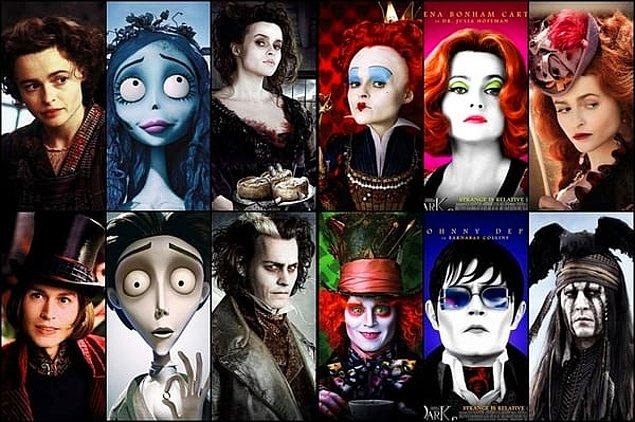 23. Johnny Depp & Helena Bonham Carter