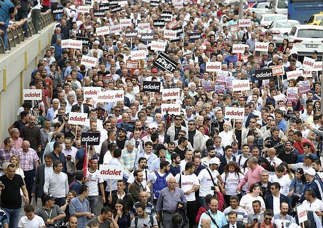 Öte yandan Ankara Valiliği yürüyüşe ilişkin açıklama yaptı ve yürüyüşe dair 8 maddelik kuralları şöyle sıraladı: