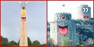 Mimari Yapılara Emoji Ekleyerek Eğlenceli Hale Getiren Tasarımcıdan 17 Yaratıcı Çalışma