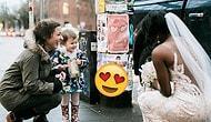 Sokakta Gördüğü Gelini Masal Kitabındaki Prenses Zanneden Küçük Kızın Paha Biçilemez Tepkisi! 😍