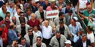 Gözler 'Adalet Yürüyüşü'nde: Kortej İstanbul'a Doğru Yola Çıktı