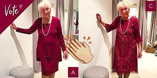 İnternet Anketiyle Kendisine Yakışan Gelinliği Bulmak İçin Yardım İsteyen 93 Yaşındaki Gelin