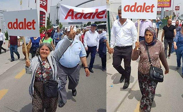 Bir 'Adalet Yürüyüşü' de İzmir'den başlayacak