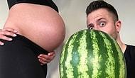 Anne Karnında Büyüyen Çocuğun Boyutunu Meyvelerle Eşleştiren Sevimli Çift