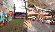 30 Yıl Boyunca Graffiti Yapılan Duvarın Katmanlarında Neler Olduğunu Merak Ettiniz mi?