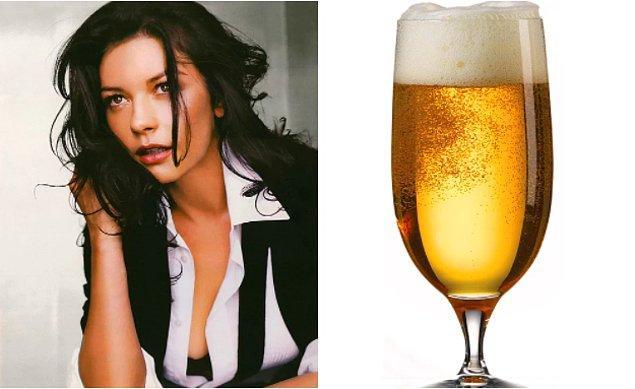 9. Catherine Zeta-Jones, güzel saçlarının sırrını açıkladı: Bira!