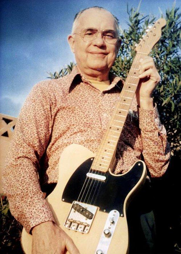 7. Efsanevi gitar markası Fender'in kurucusu ve modern elektrik gitarın mucidi Leo Fender enstrüman çalmayı bilmiyordu.