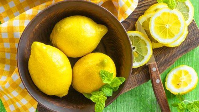 1. C vitamini deposu limon.