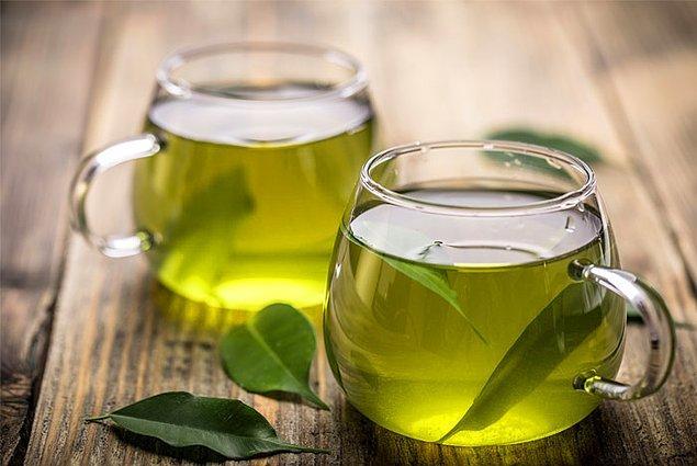 5. Yeşil çay