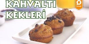 Sahurda Buz Gibi Meyve Suyunun Yanında Kahvaltı Kekleri Nasıl Yapılır?