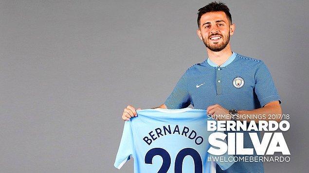 119. Bernardo Silva ➡️  Manchester City