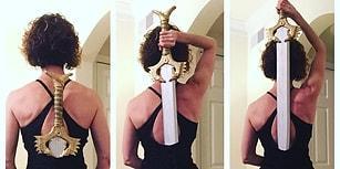 Sosyal Medyada Yeni Trend! Wonder Woman'ın İkonik Sahnesini Canlandıran Kılıçlı Kadınlar