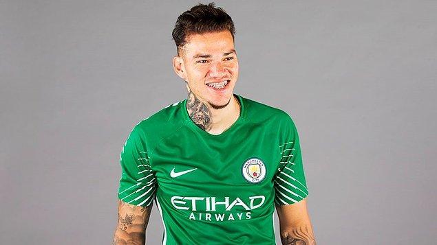105. Ederson ➡️  Manchester City