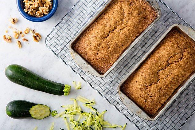 9. Kabak, keklerinizin içini yumuşacık yapacak!