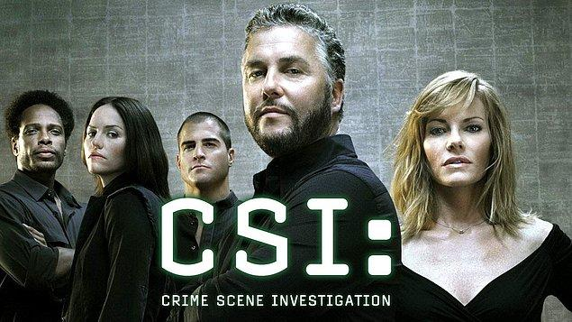 23. CSI: Crime Scene Investigation (2000–2015)    IMDb 7.7