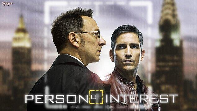 12. Person of Interest (2011–2016)    IMDb 8.5