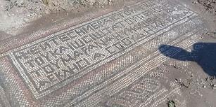 Adıyaman'da Tarlasını Süren Mozaik Buluyor! Bir Çiftçi 1.500 Yıllık Tarihi Gün Yüzüne Çıkardı