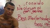 Futbolun ve Apaçiliğin En Üst Noktası Cristiano Ronaldo'ya Yapılmış 15 Komik Photoshop