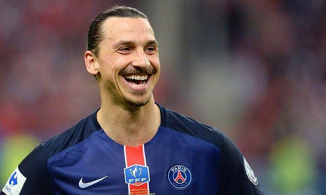 3. Zlatan Ibrahimovic