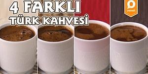 Türk Kahvesine Yeni Yorum: 4 Farklı Lezzette Türk Kahvesi!