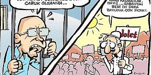 Uykusuz'un 'Adalet Yürüyüşü' Karikatürü Tepkilerin Odağında