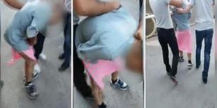 Torbacılık Yaptığı İddiasıyla Bir Kişiye Etek Giydirip Döve Döve Sokakta Dolaştırdılar