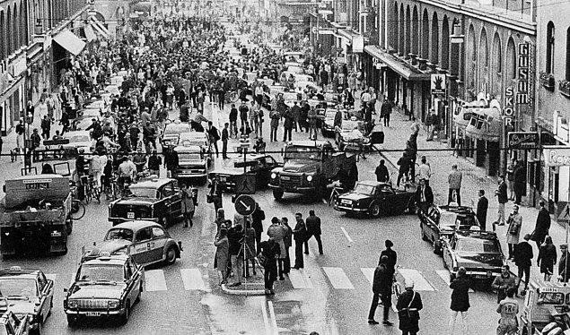 İsveç 1967 yılında trafiğin akışını soldan sağa değiştirdi. Aynı tartışma yakın zamanda İngiltere'de başladı. Ancak bu fikrin gerçekleşmesi pek olası değil.