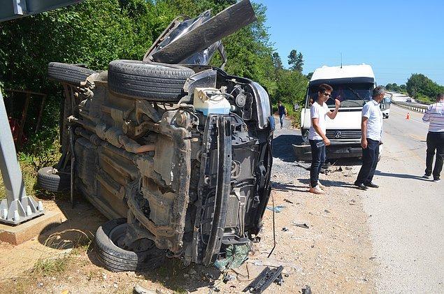24 Haziran Cumartesi: 30 kazada 26 ölü, 128 yaralı