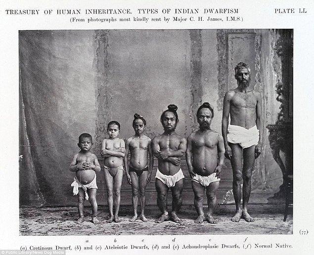 15. Öjenik Birliği'nin çektiği Hintlerde Cücelik fotoğrafları, 1912.