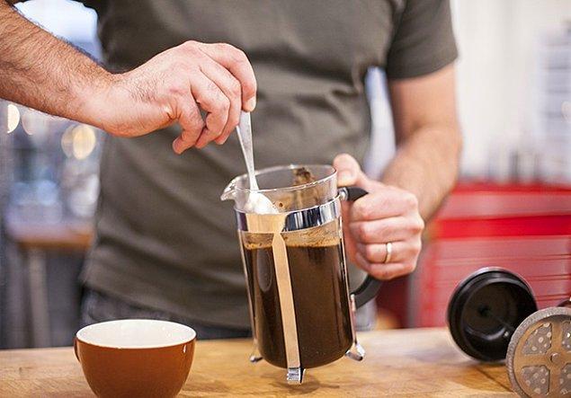 13. Kahvenizi kendiniz yapın.